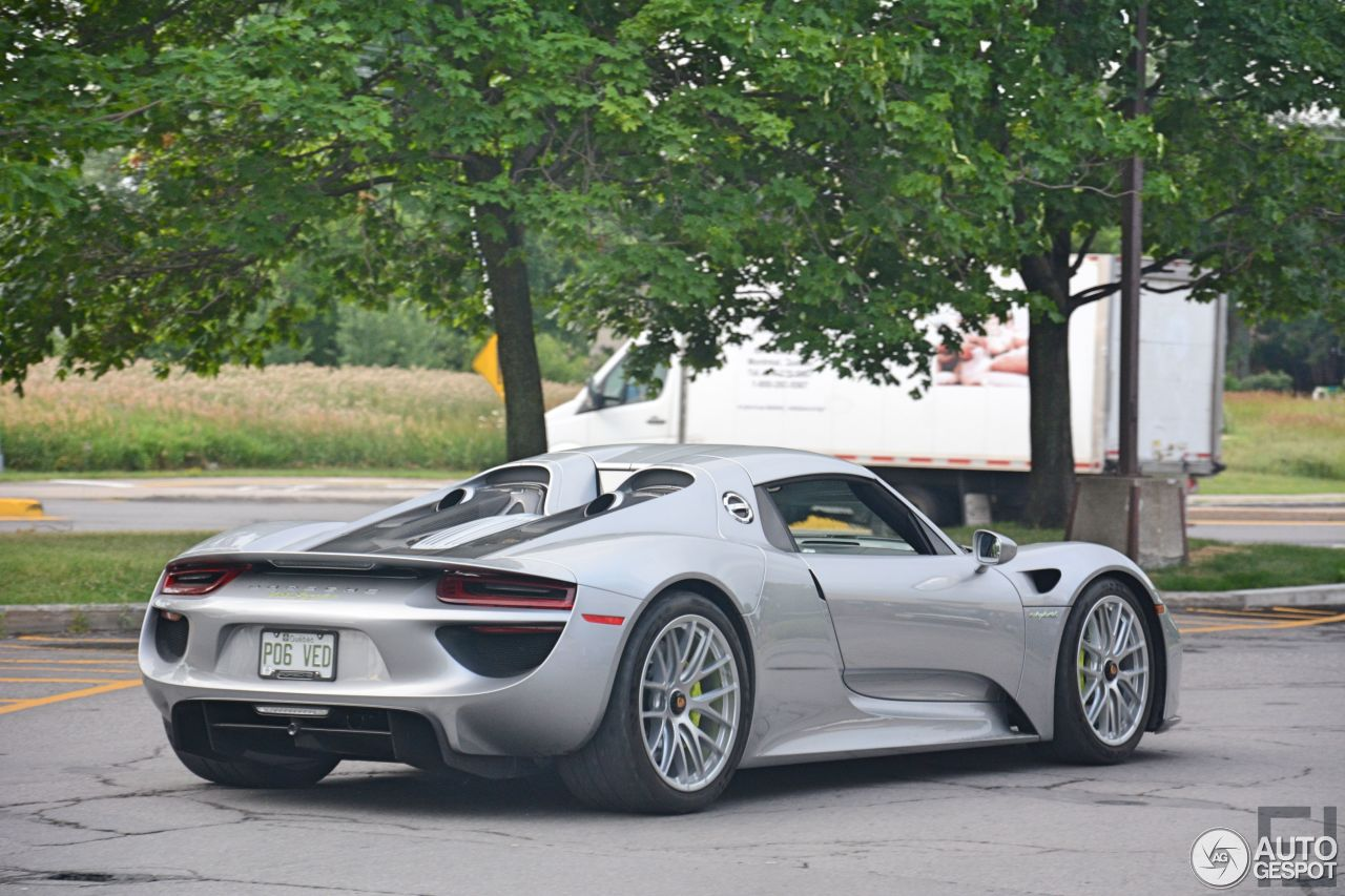 porsche 918 spyder 23 july 2016 autogespot. Black Bedroom Furniture Sets. Home Design Ideas