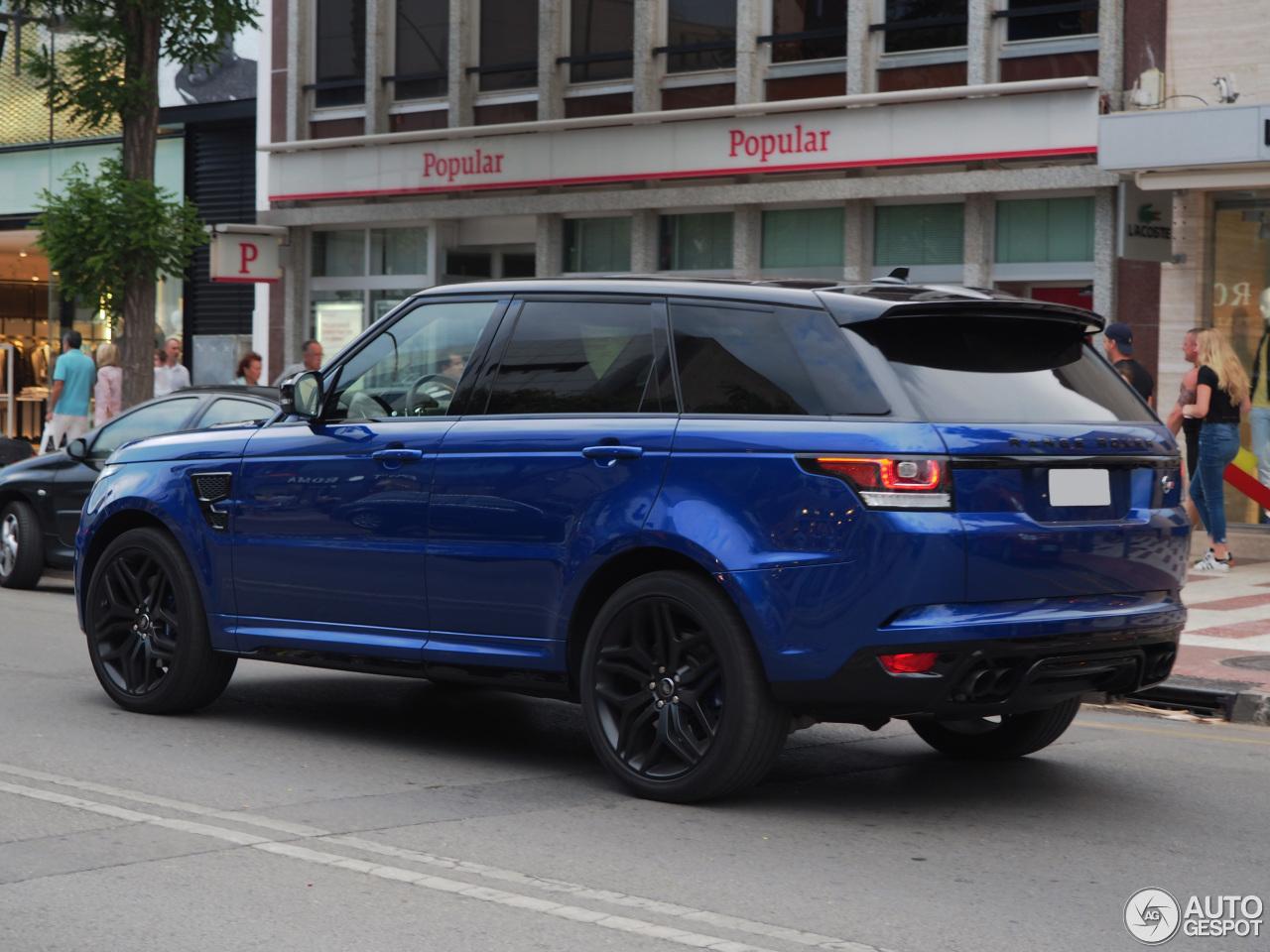 Range Rover Sport Matte >> Land Rover Range Rover Sport SVR - 24 July 2016 - Autogespot