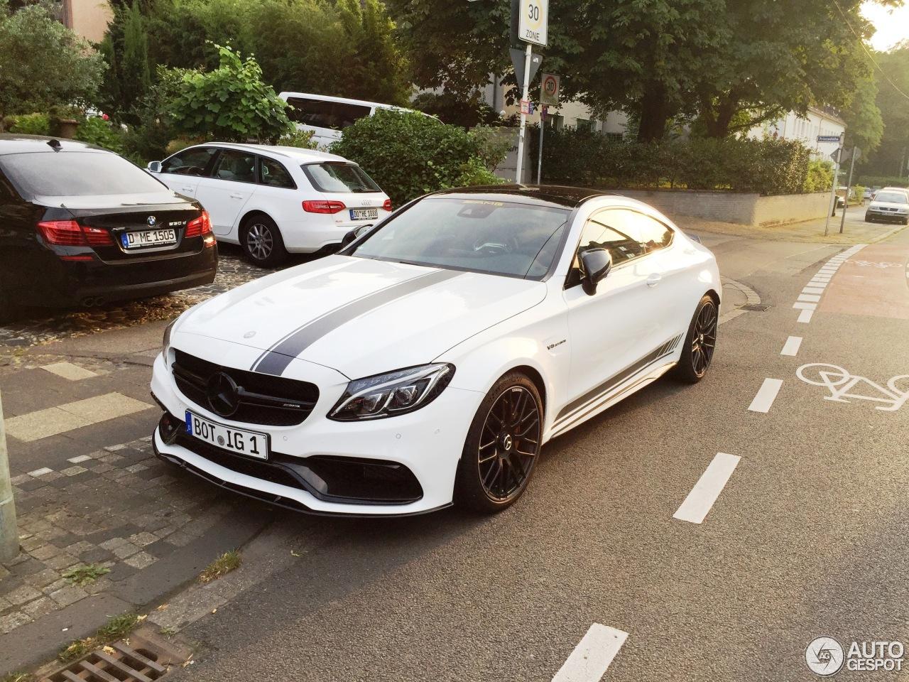 Mercedes C Custom Paint