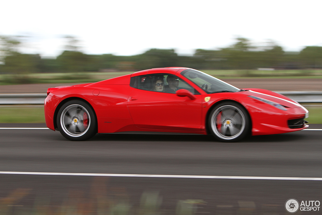 ferrari 458 spider 26 july 2016 autogespot. Black Bedroom Furniture Sets. Home Design Ideas