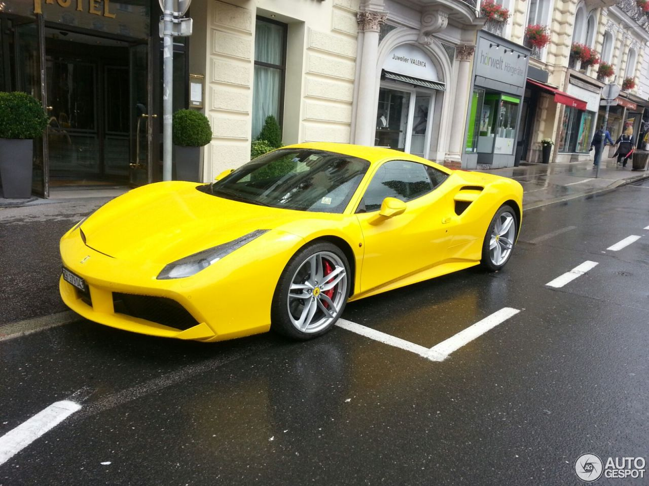 ferrari 488 gtb 26 july 2016 autogespot. Black Bedroom Furniture Sets. Home Design Ideas