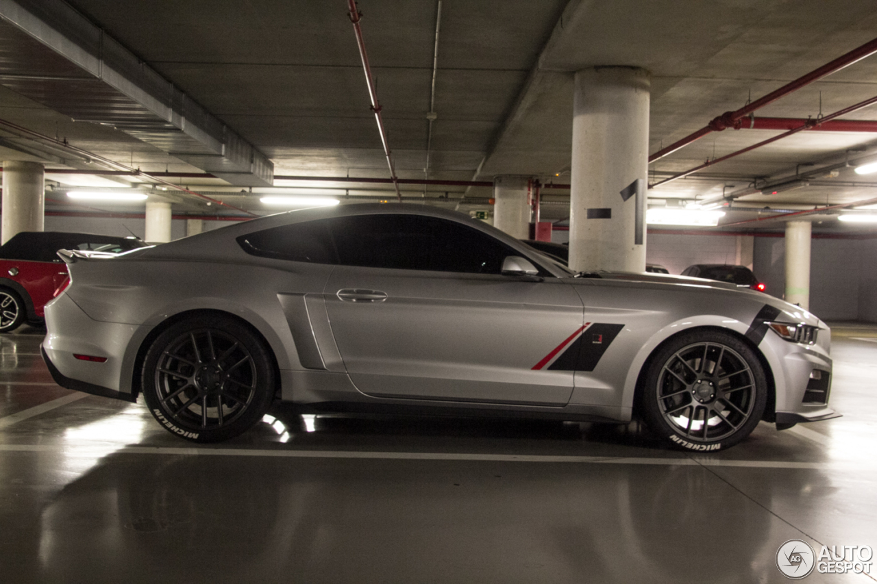 ford mustang roush stage 3 2015 28 julio 2016 autogespot. Black Bedroom Furniture Sets. Home Design Ideas