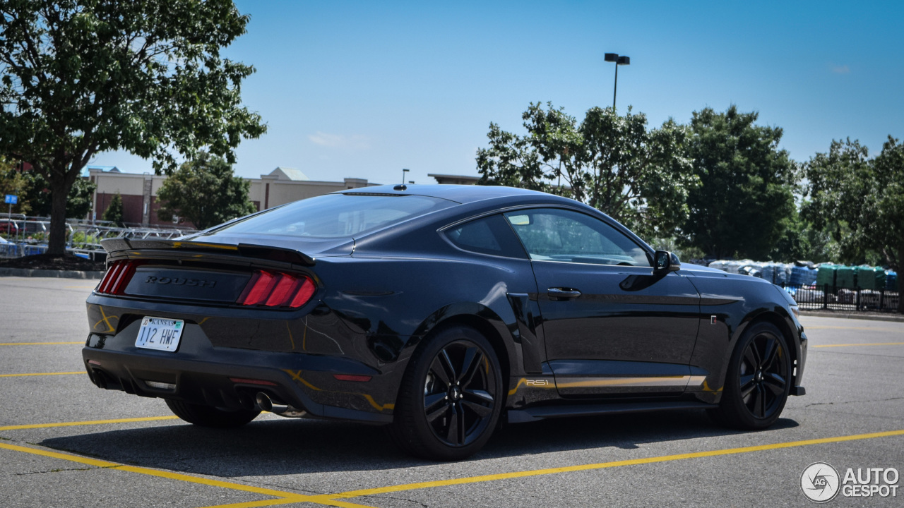 ford mustang roush stage 1 2015 29 july 2016 autogespot. Black Bedroom Furniture Sets. Home Design Ideas