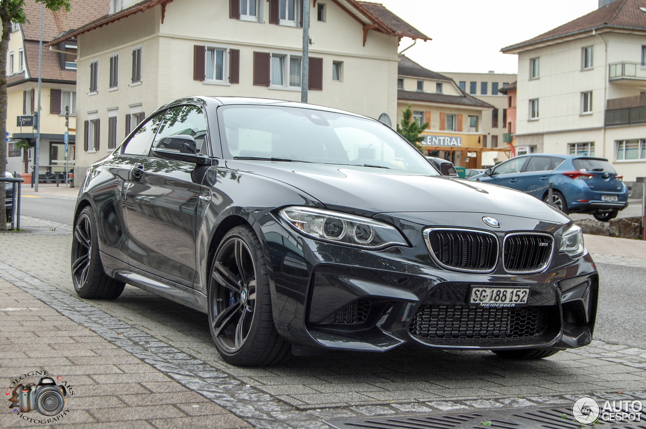 bmw m2 coup f87 30 july 2016 autogespot. Black Bedroom Furniture Sets. Home Design Ideas