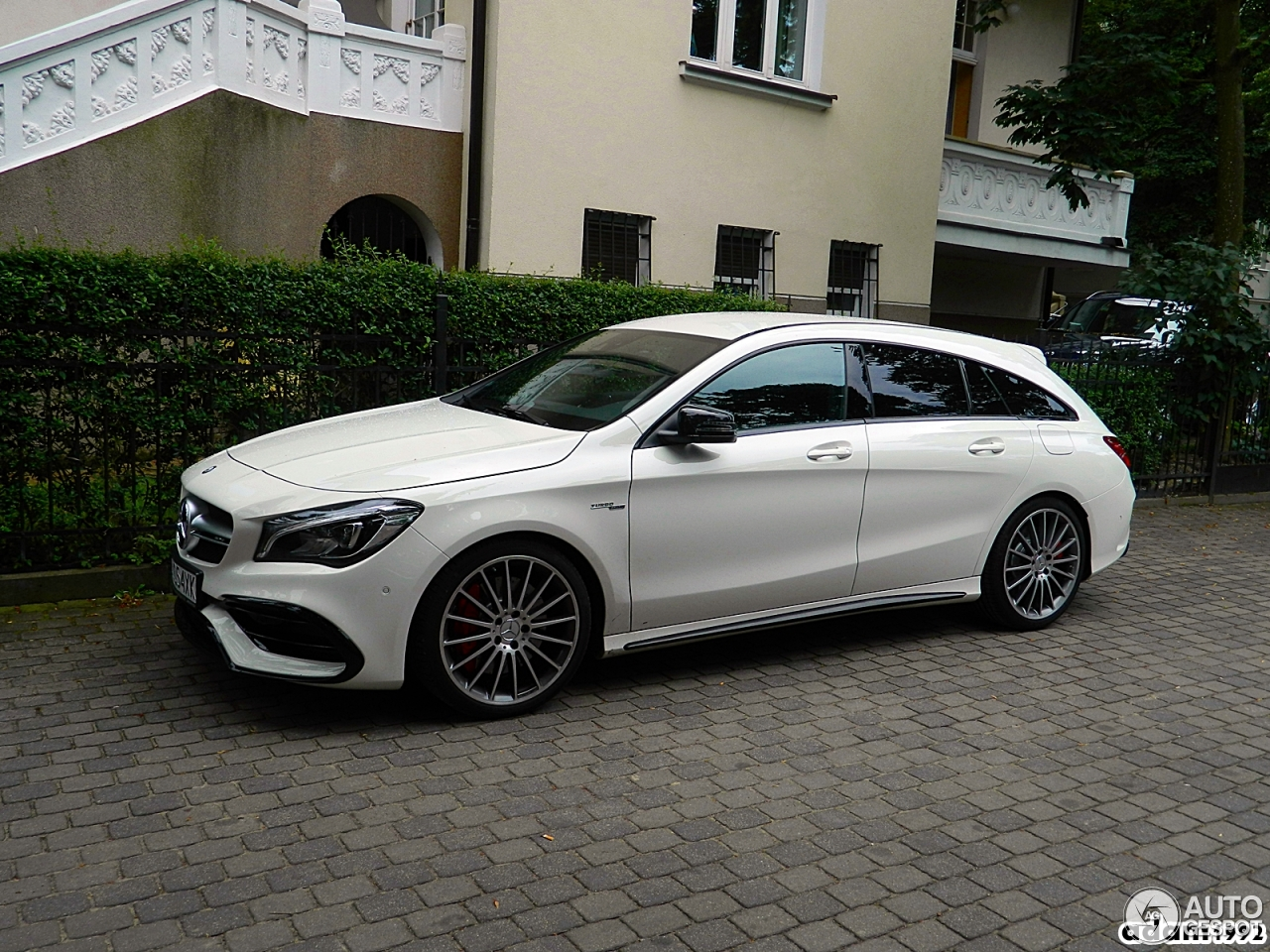 mercedes amg cla 45 shooting brake x117 2017 30 july 2016 autogespot. Black Bedroom Furniture Sets. Home Design Ideas