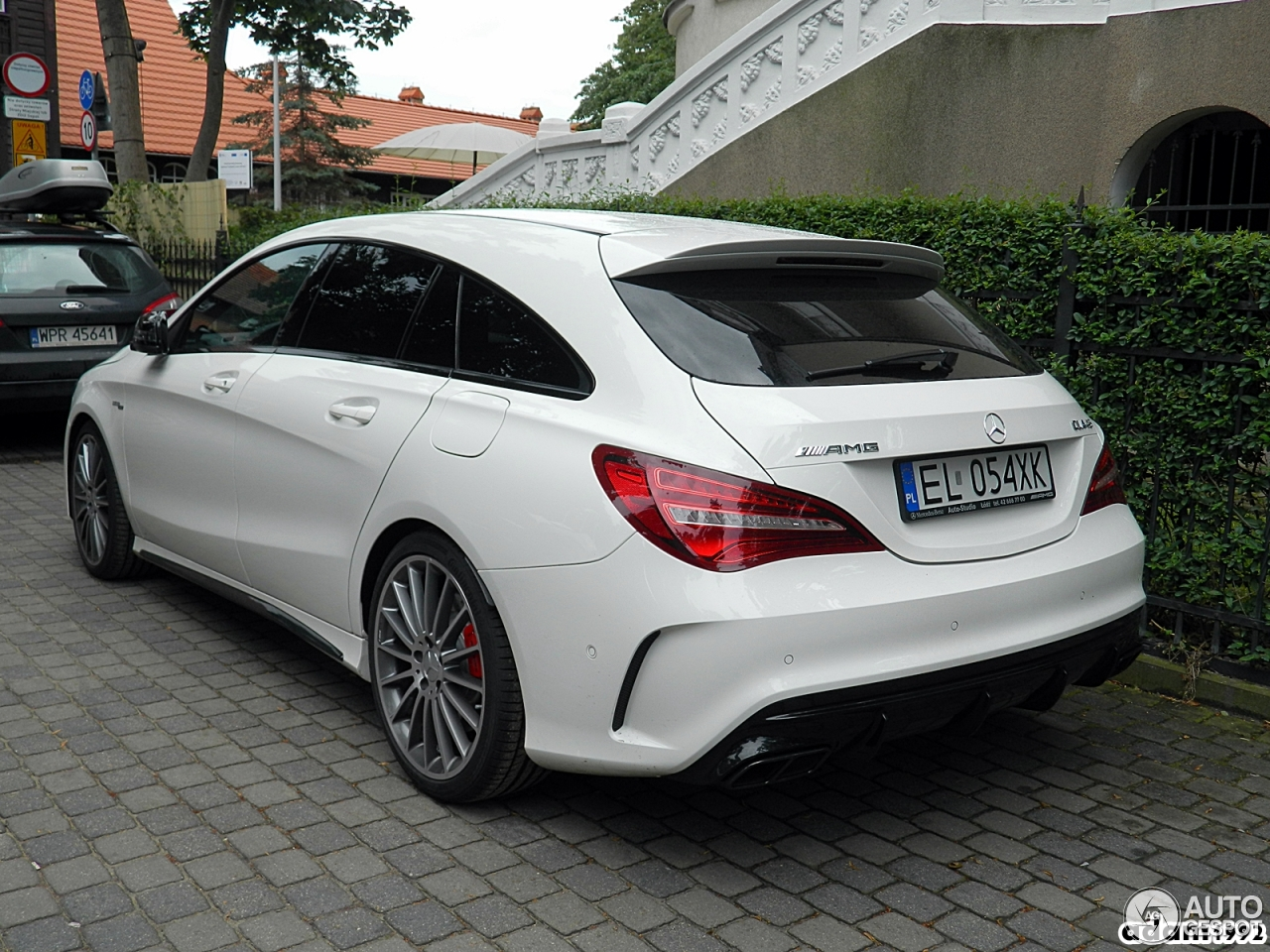 mercedes amg cla 45 shooting brake x117 2017 30 july. Black Bedroom Furniture Sets. Home Design Ideas