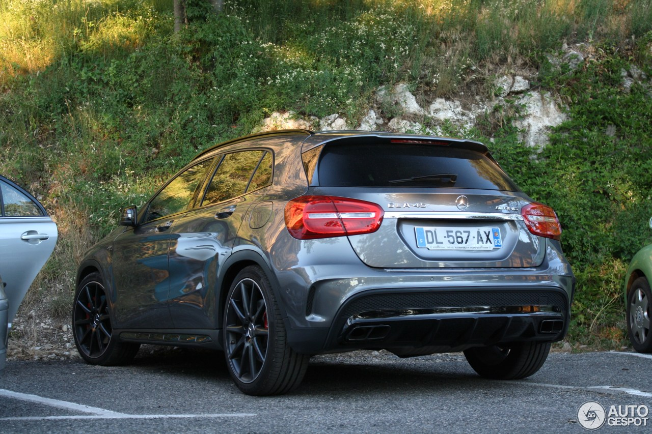 mercedes benz gla 45 amg x156 30 july 2016 autogespot