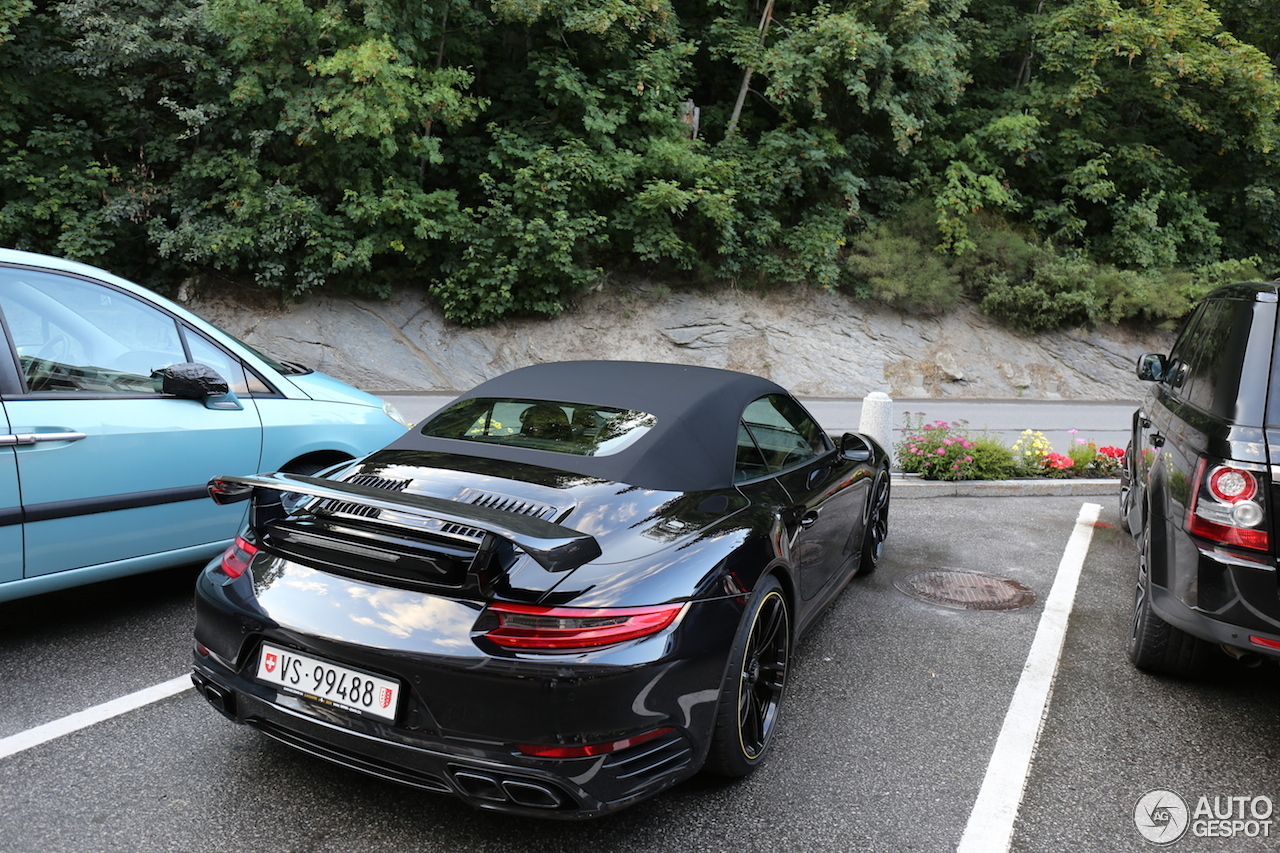 Porsche Techart 991 Turbo S Cabriolet Mkii 31 July 2016