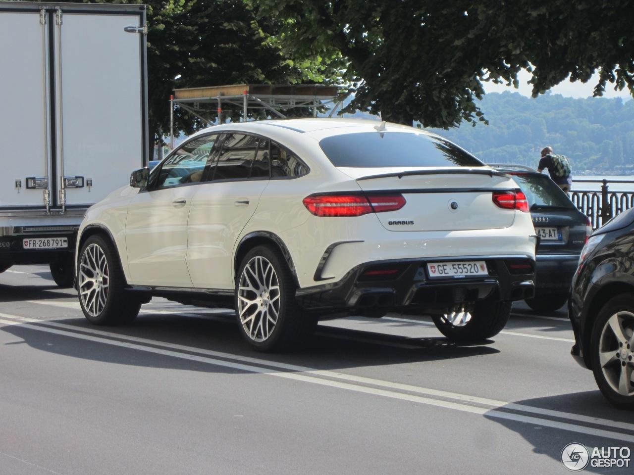 Mercedes Amg Brabus Gle 63 S Coupe 31 July 2016 Autogespot