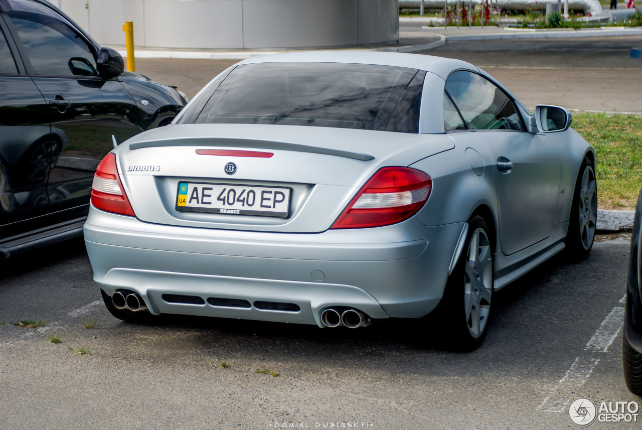 Mercedes benz brabus slk b55 s r171 31 july 2016 for Mercedes benz slk brabus price