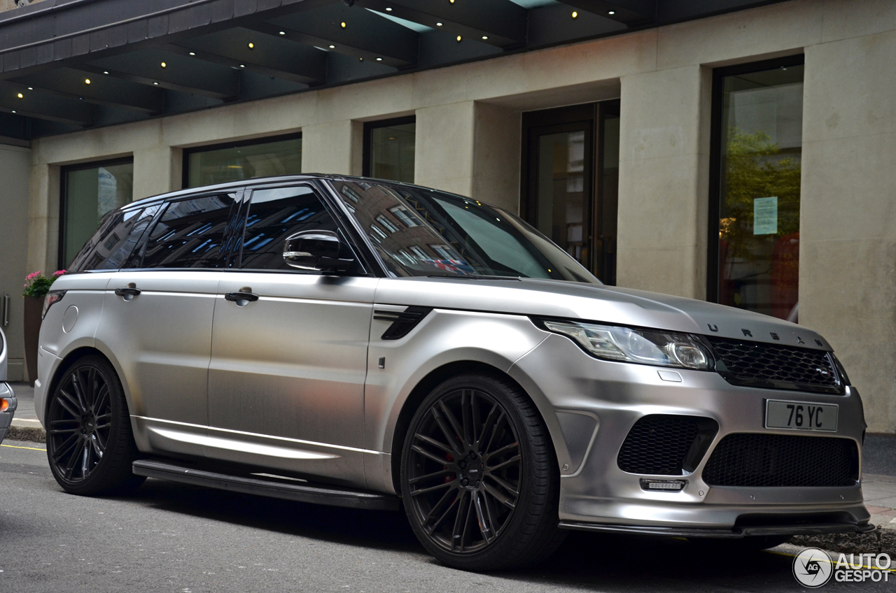 01on 2015 Range Rover Sport White