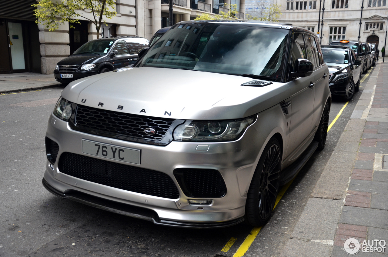 Land Rover Urban Range Rover Sport Rrs 1 August 2016