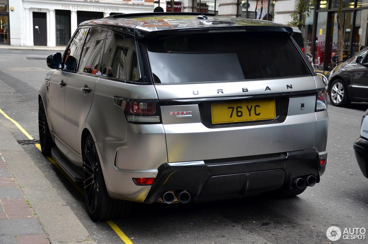 Land Rover Urban Range Rover Sport Rrs 1 August 2016