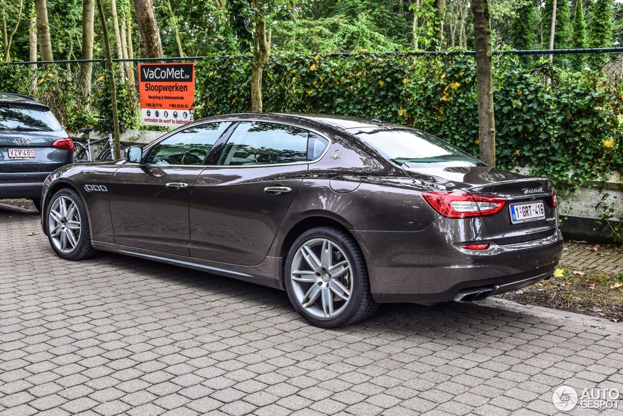 maserati quattroporte gts 2013 1 august 2016 autogespot. Black Bedroom Furniture Sets. Home Design Ideas