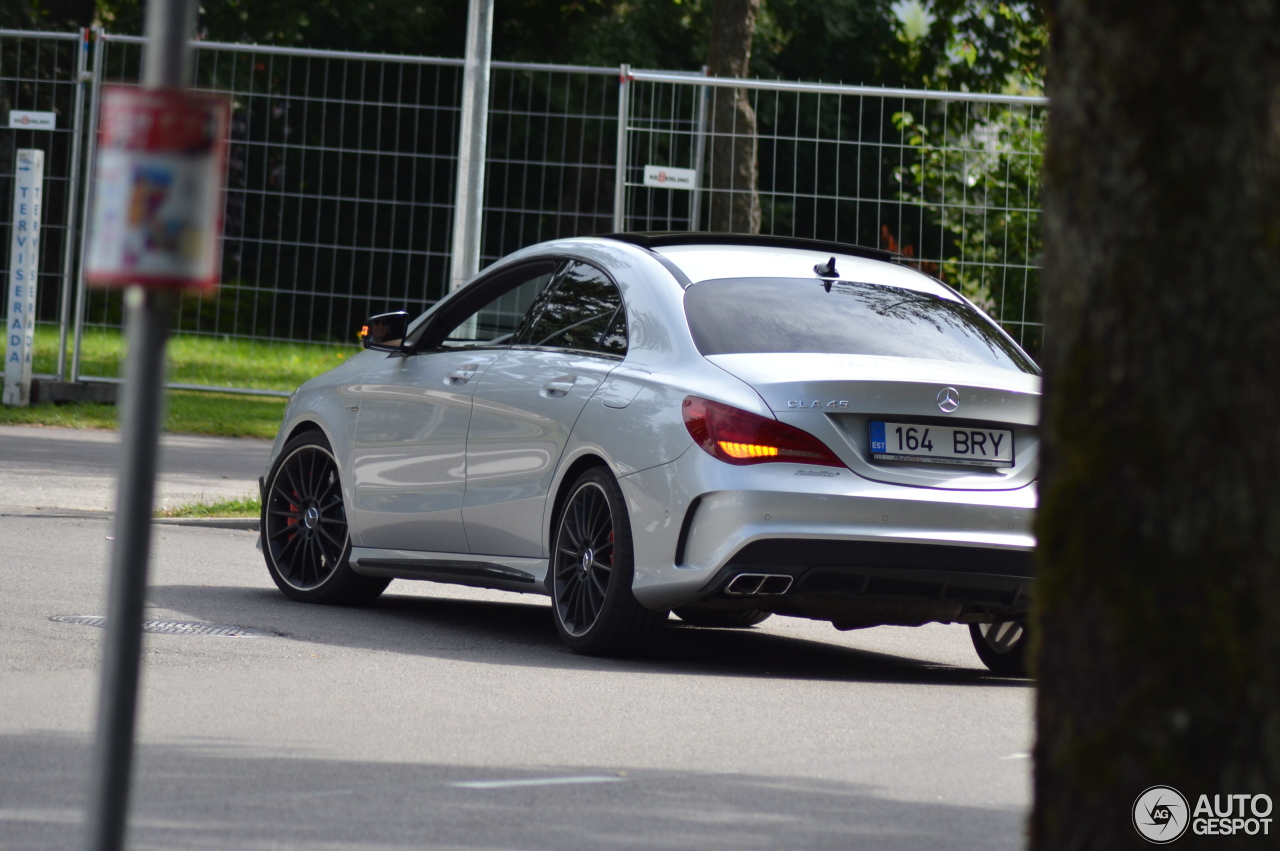 Mercedes benz cla 45 amg c117 1 augustus 2016 autogespot for Mercedes benz cla 250 2010