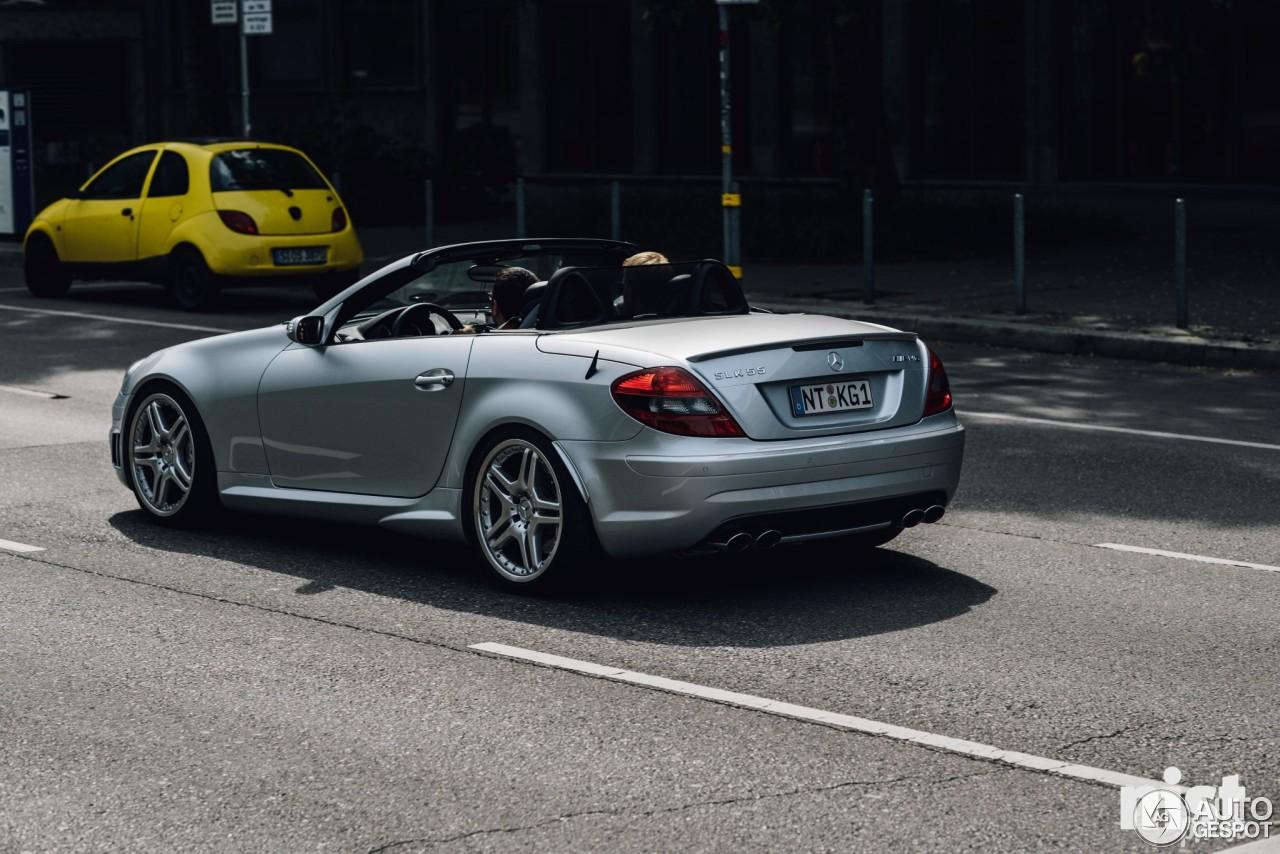 Mercedes benz slk 55 amg r171 1 august 2016 autogespot for 2016 amg slk55 mercedes benz