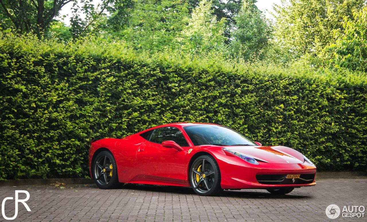 ferrari 458 italia 2 august 2016 autogespot. Cars Review. Best American Auto & Cars Review