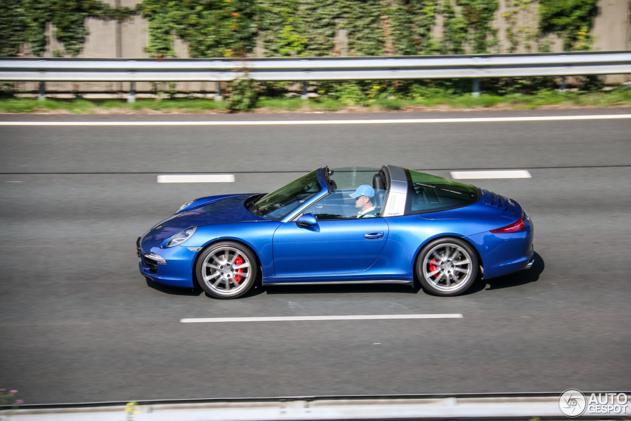 porsche 991 targa 4s 2 august 2016 autogespot. Black Bedroom Furniture Sets. Home Design Ideas