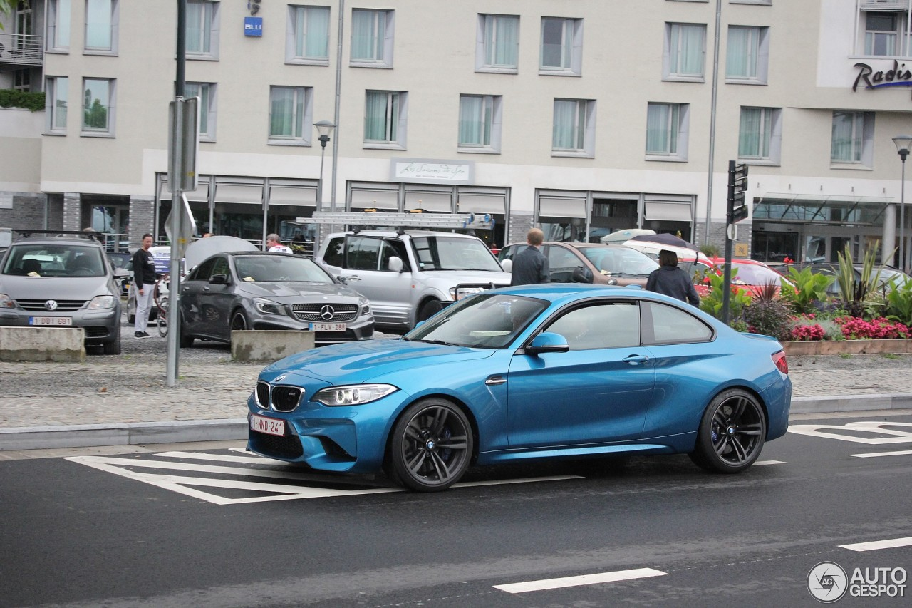 bmw m2 coup f87 3 august 2016 autogespot. Black Bedroom Furniture Sets. Home Design Ideas