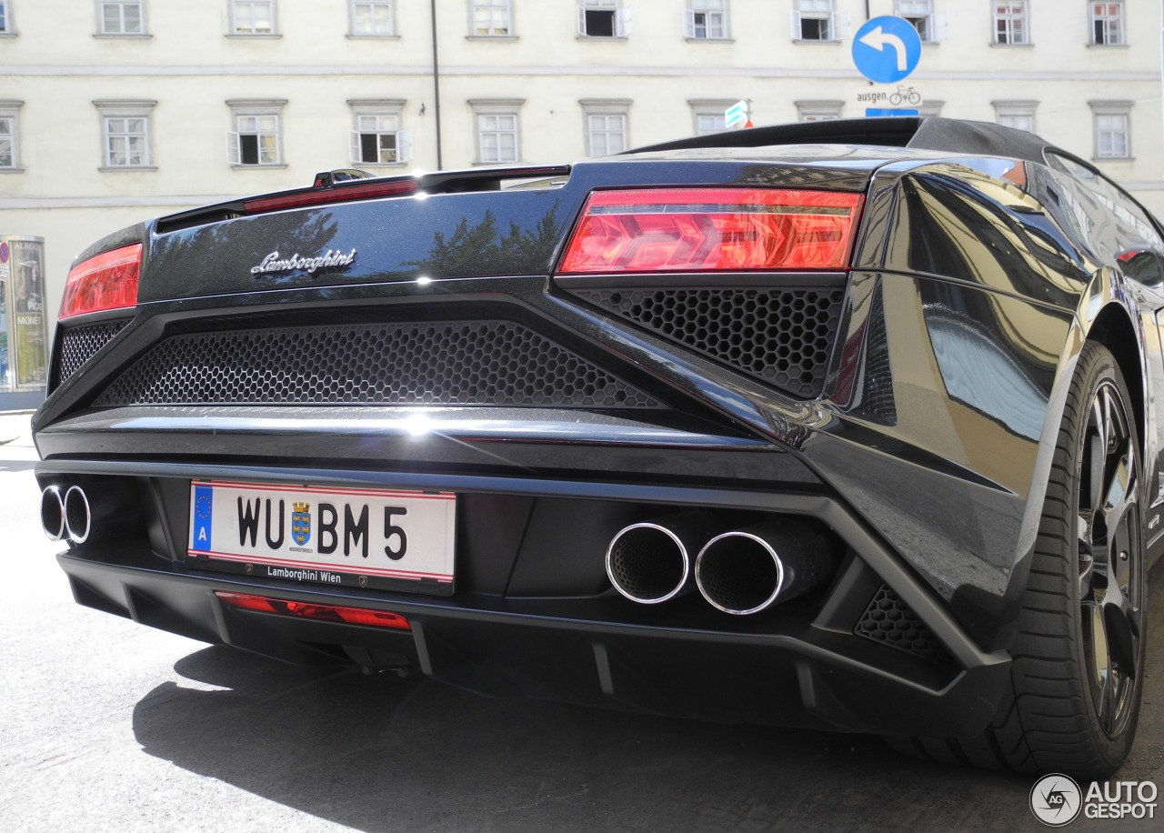 1 i lamborghini gallardo lp560 4 spyder 2013 1 - Lamborghini Gallardo Spyder Black 2013