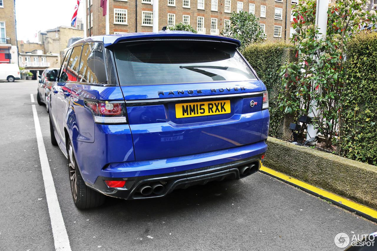 Land Rover Chicago >> Land Rover Range Rover Sport SVR - 4 August 2016 - Autogespot