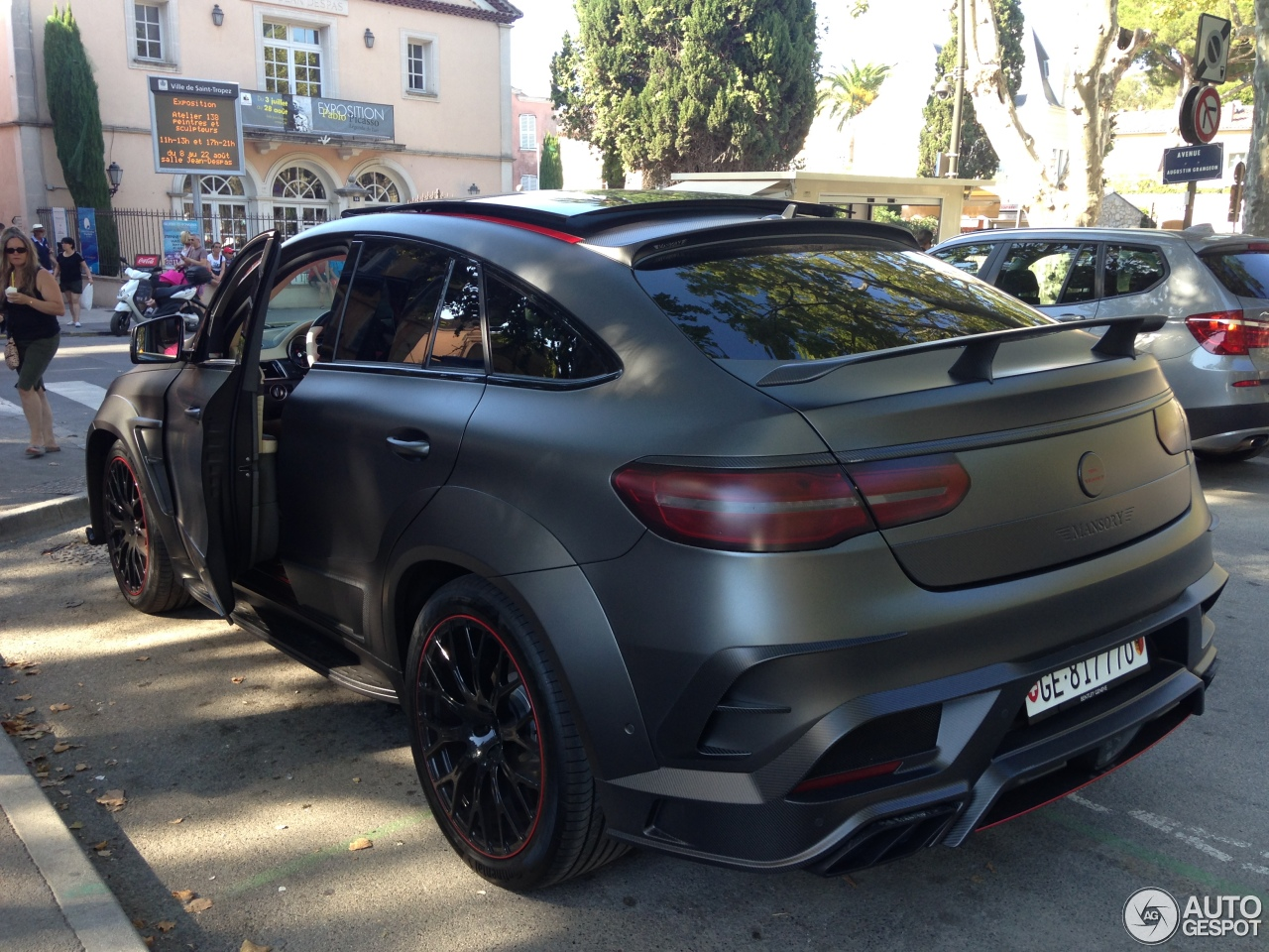 Mercedes amg mansory gle 63 s coupe 4 august 2016 for 2017 amg gle 63 mercedes benz