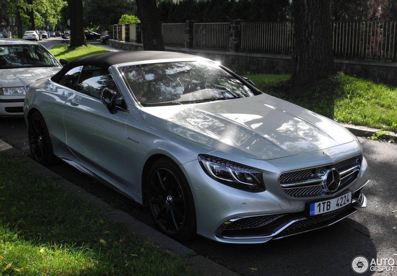mercedes amg s 65 convertible a217 4 august 2016 autogespot. Black Bedroom Furniture Sets. Home Design Ideas