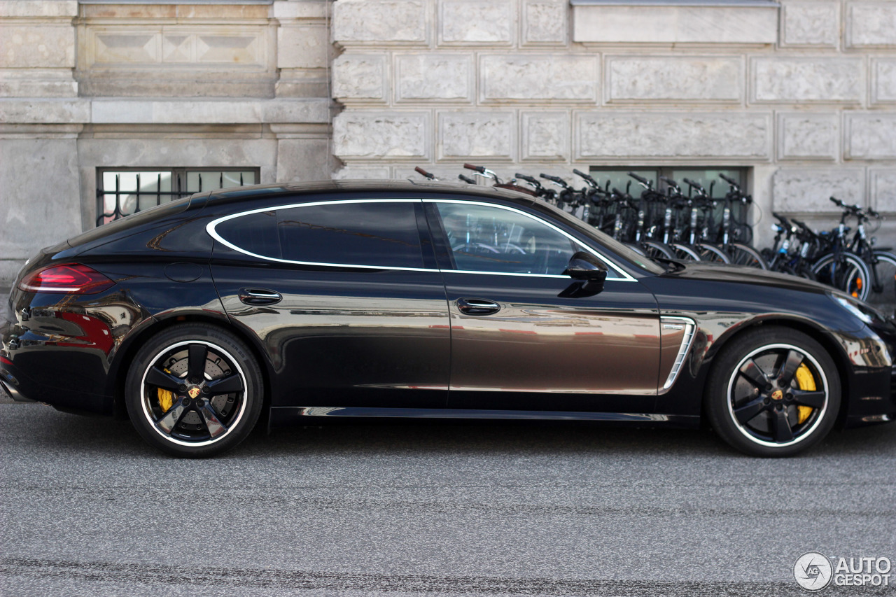 Porsche Panamera Turbo S Mkii Exclusive Series 4 August