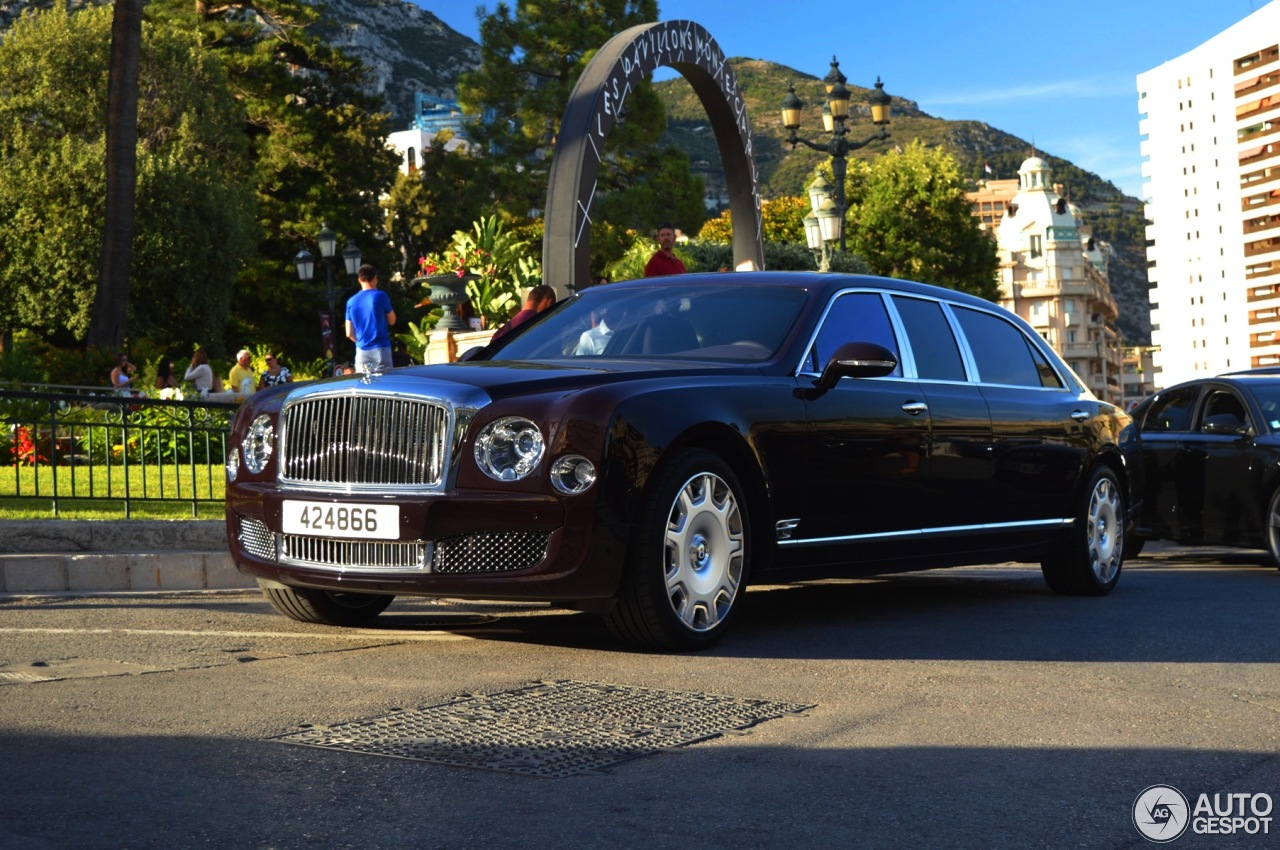 Bentley Mulsanne Grand Limousine 6 August 2016 Autogespot