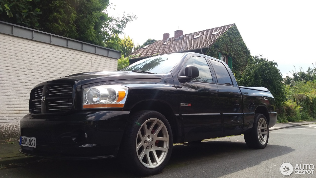 dodge ram srt 10 quad cab 6 august 2016 autogespot. Black Bedroom Furniture Sets. Home Design Ideas