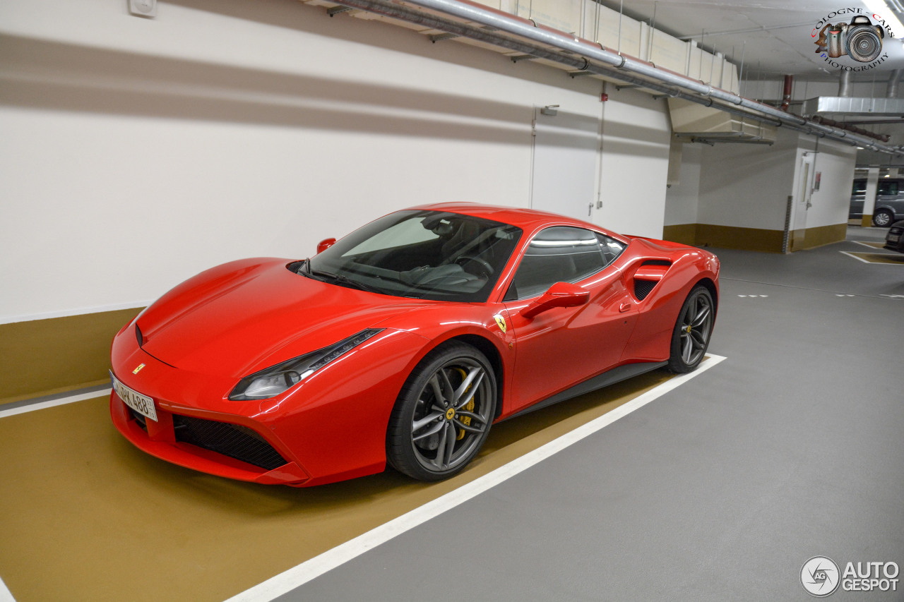 ferrari 488 gtb 6 august 2016 autogespot. Black Bedroom Furniture Sets. Home Design Ideas