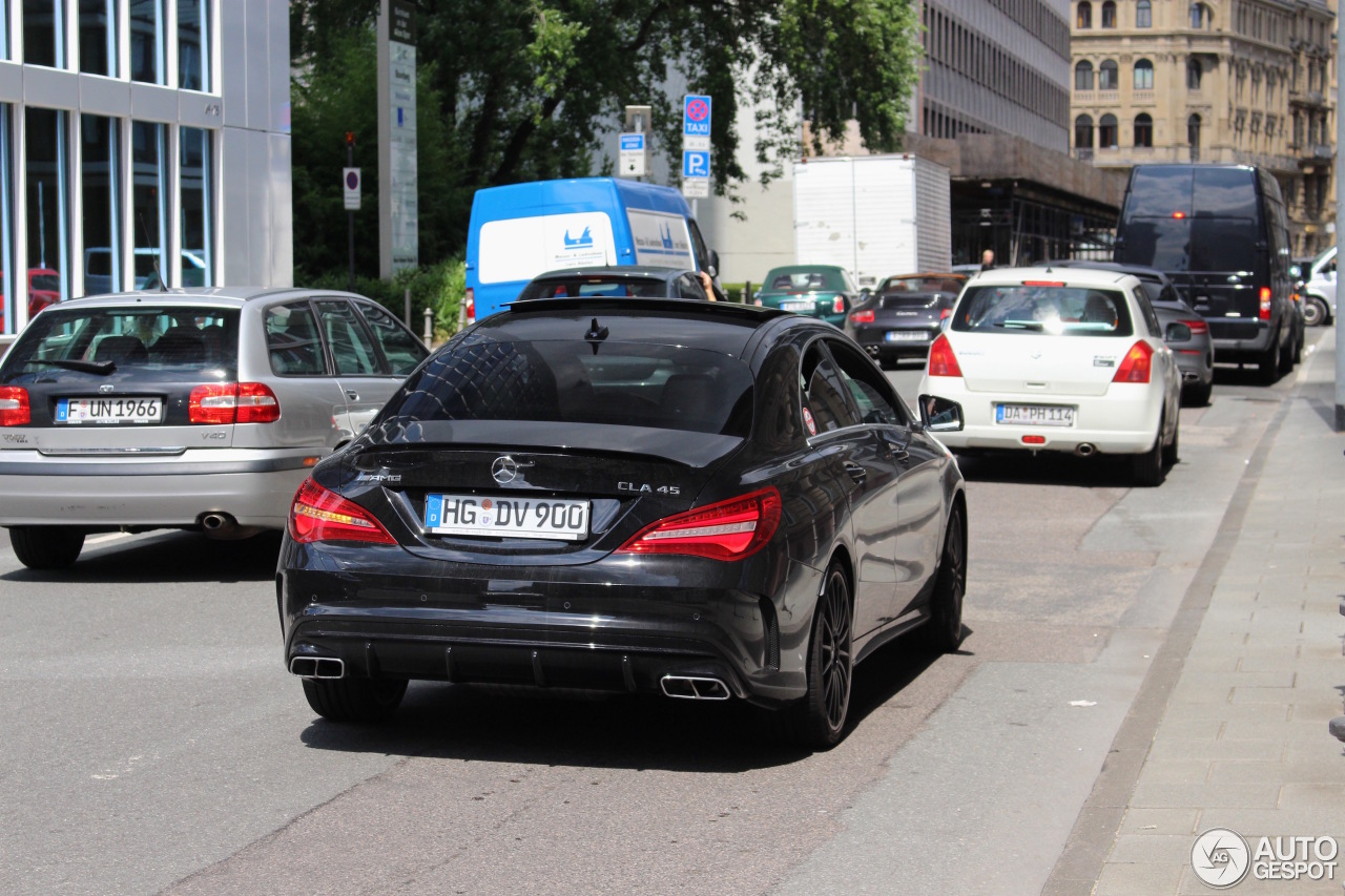 Mercedes Amg Cla 45 C117 2017 6 August 2016 Autogespot
