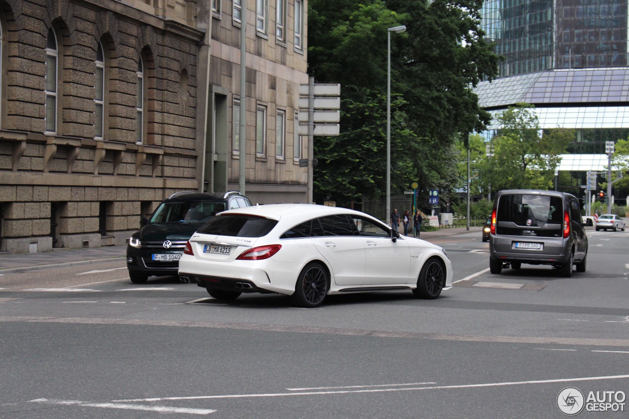 Mercedes Amg Cls 63 S X218 Shooting Brake 2016 7 August 2016 Autogespot