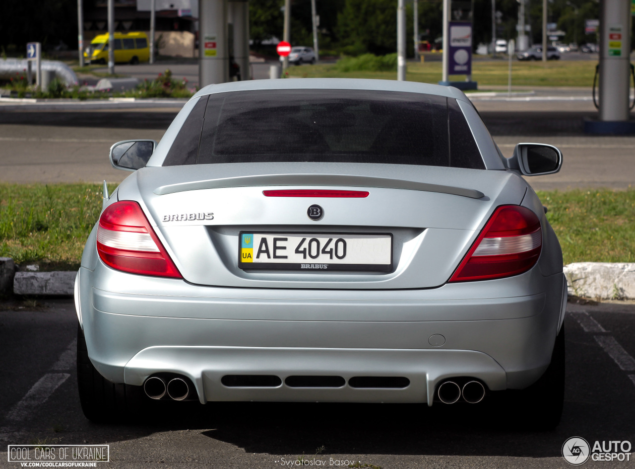 Mercedes benz brabus slk b55 s r171 7 august 2016 for Mercedes benz slk brabus price