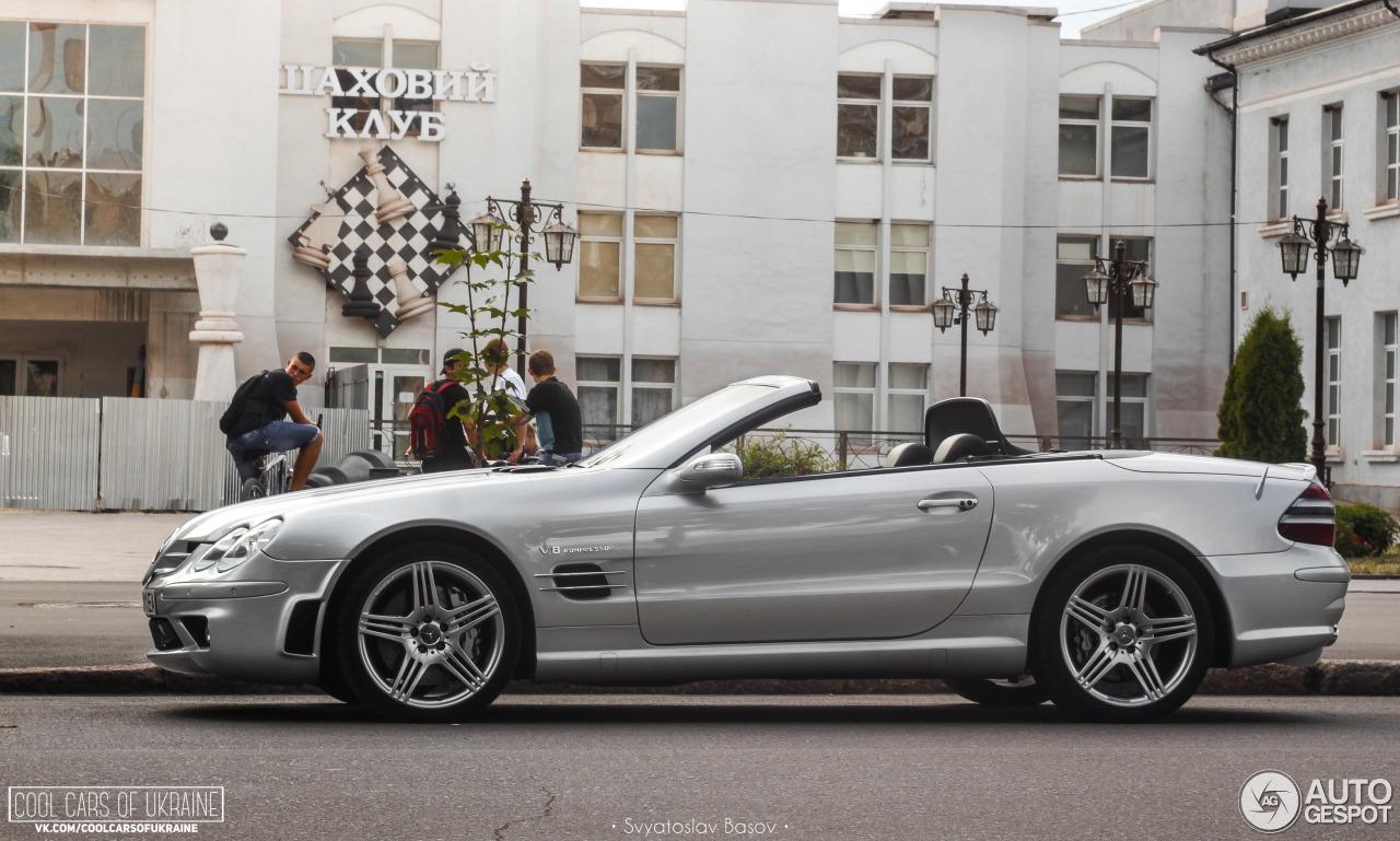 Mercedes benz sl 55 amg r230 7 august 2016 autogespot for 08 mercedes benz