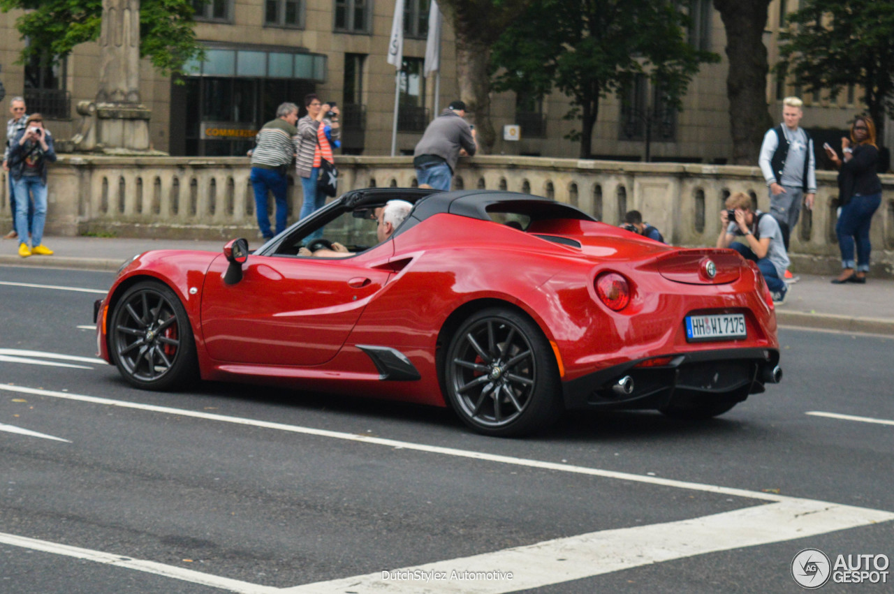 alfa romeo 4c spider 8 august 2016 autogespot. Black Bedroom Furniture Sets. Home Design Ideas