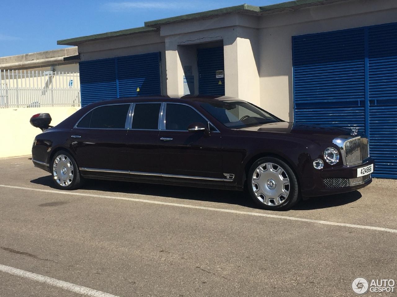 Bentley Mulsanne Grand Limousine 8 August 2016 Autogespot