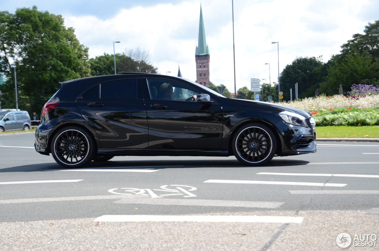 mercedes amg a 45 w176 2015 8 august 2016 autogespot. Black Bedroom Furniture Sets. Home Design Ideas