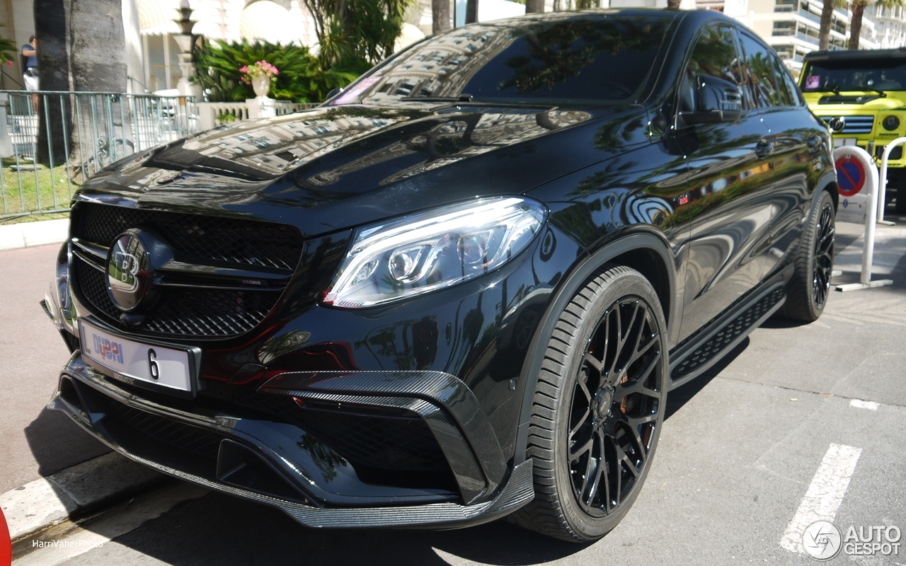 mercedes amg brabus gle 63 s coup 8 august 2016. Black Bedroom Furniture Sets. Home Design Ideas