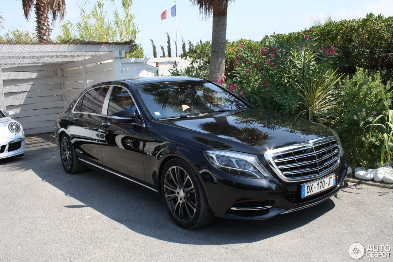 Mercedes maybach s600 8 august 2016 autogespot for S600 mercedes benz for sale
