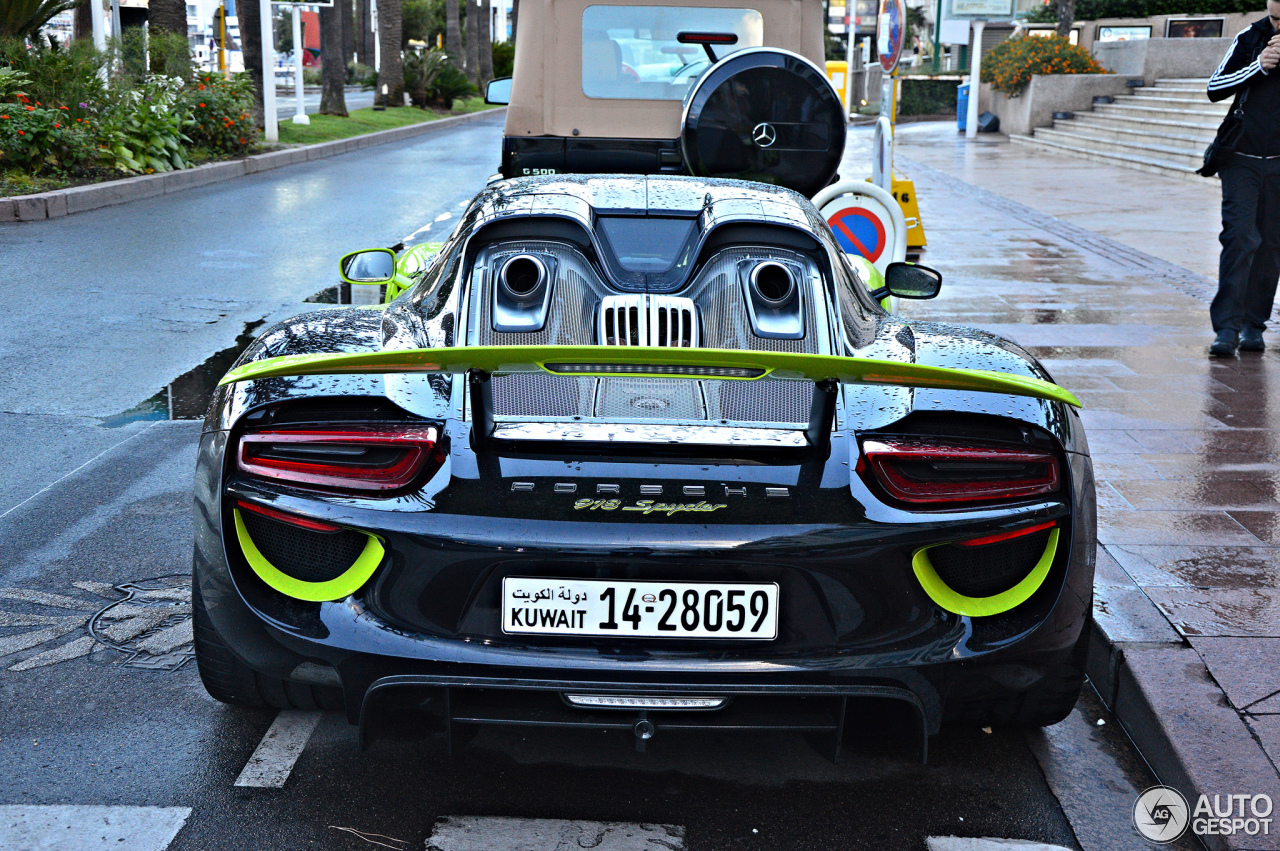 Porsche 918 Spyder 9 August 2016 Autogespot