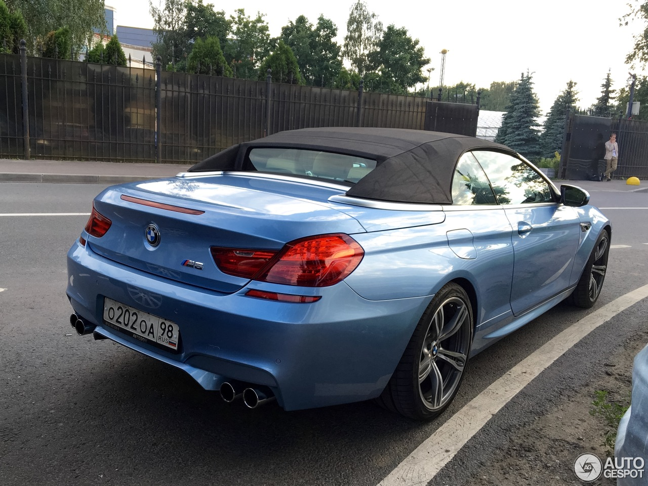 bmw m6 f12 cabriolet 11 august 2016 autogespot. Black Bedroom Furniture Sets. Home Design Ideas