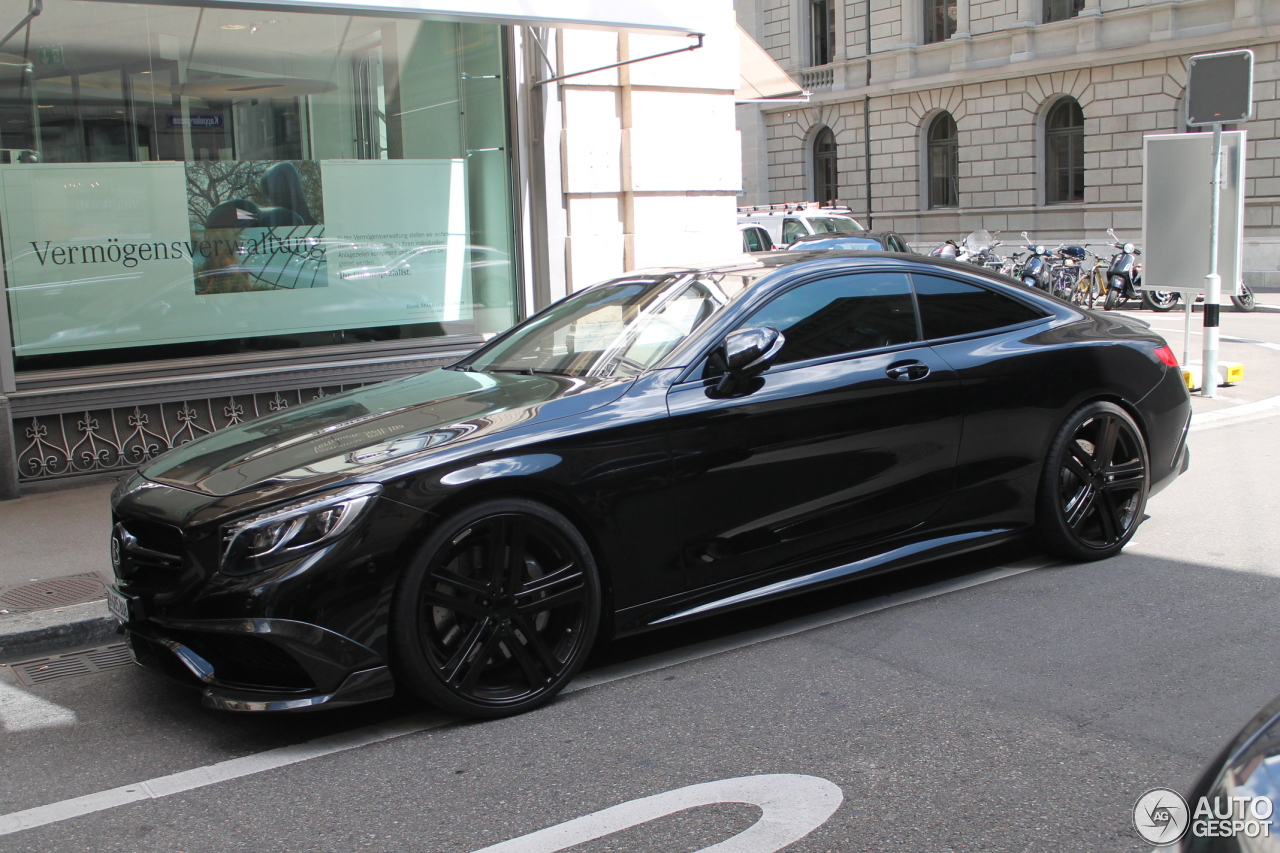 Mercedes Benz Brabus 850 6 0 Biturbo Coupe C217 11