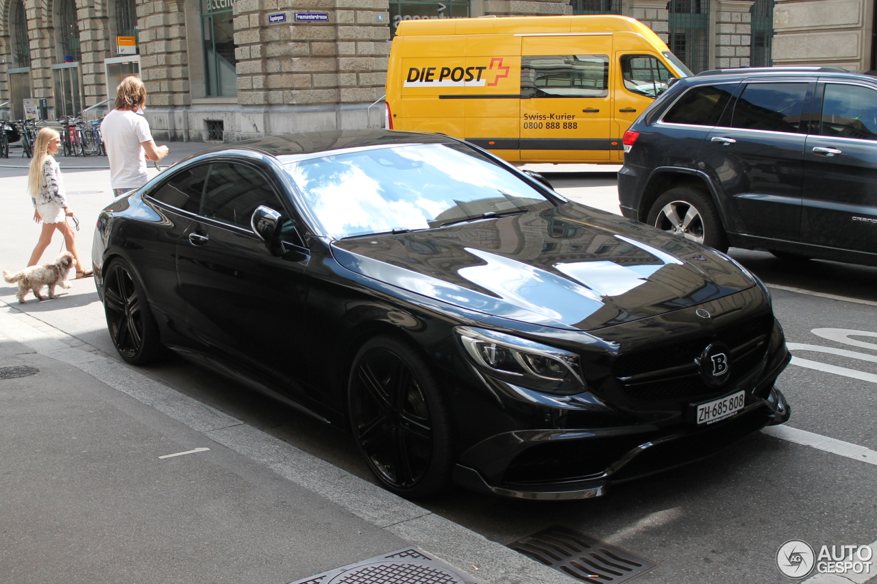 Mercedes benz brabus 850 6 0 biturbo coupe c217 11 for Mercedes benz brabus price