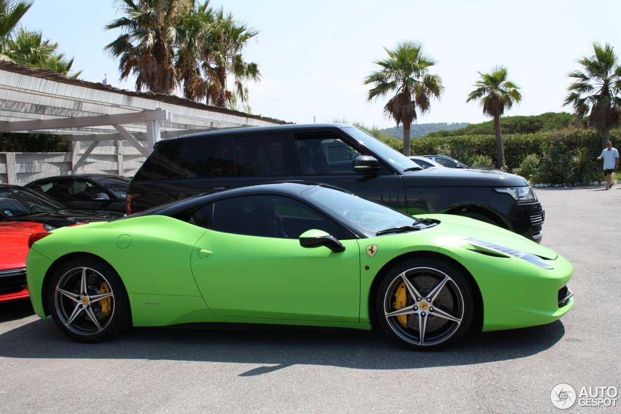 ferrari 458 italia 12 august 2016 autogespot. Cars Review. Best American Auto & Cars Review