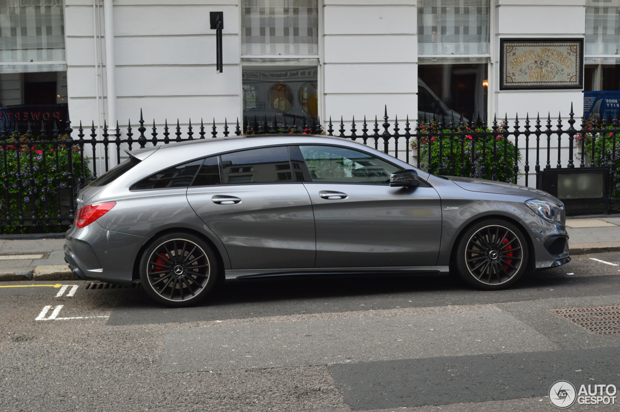 Mercedes benz cla 45 amg shooting brake 12 august 2016 for Mercedes benz cla for sale uk