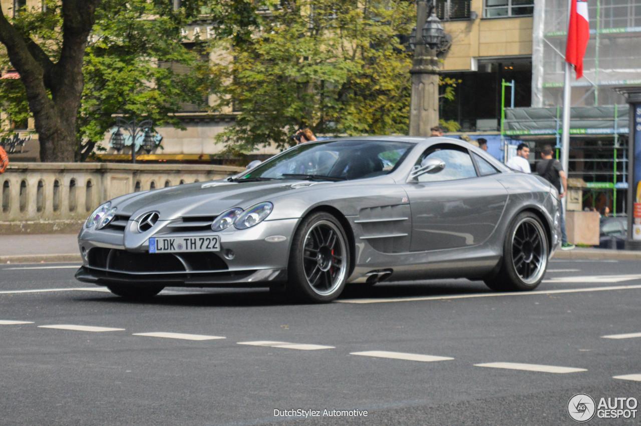 Mercedes Benz Slr Mclaren 722 Edition 12 August 2016