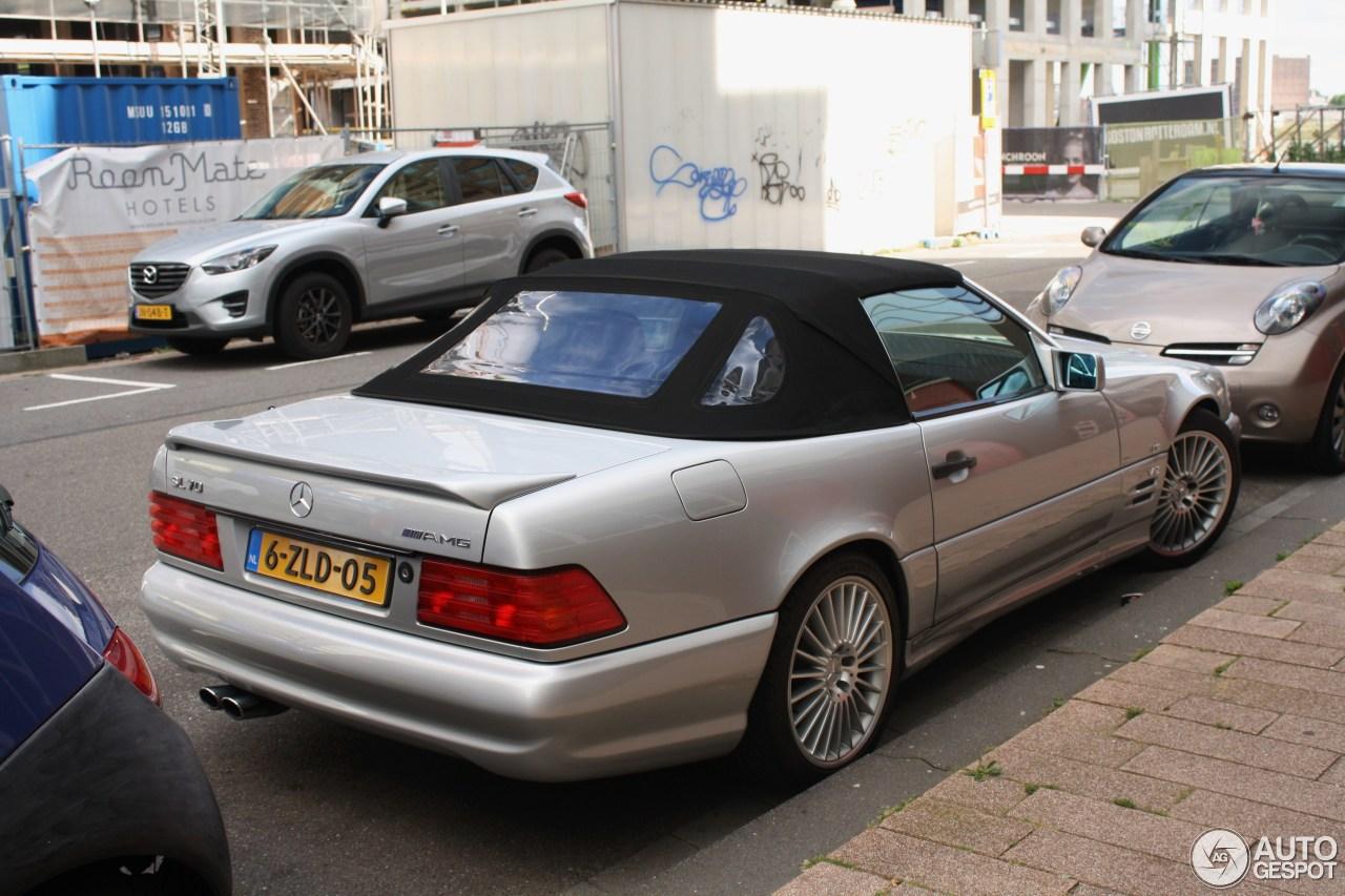 Mercedes benz sl 70 amg r129 14 august 2016 autogespot for 08 mercedes benz