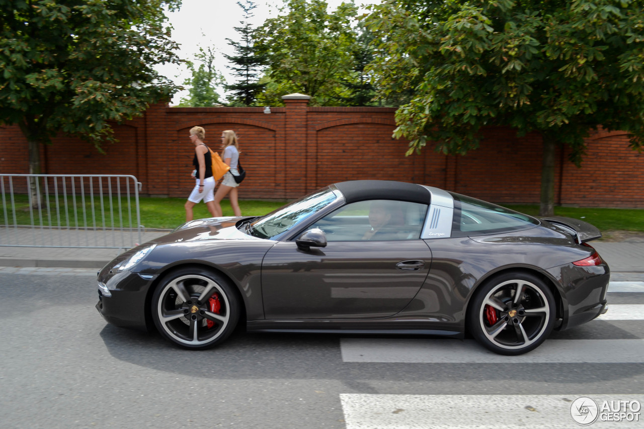 porsche 991 targa 4s 14 agosto 2016 autogespot. Black Bedroom Furniture Sets. Home Design Ideas