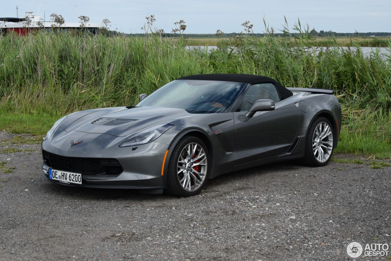 chevrolet corvette c7 z06 convertible 15 august 2016 autogespot. Black Bedroom Furniture Sets. Home Design Ideas